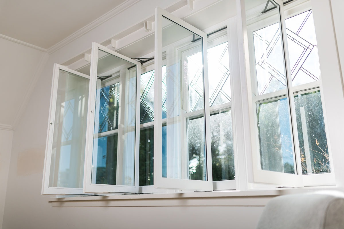 real-wood double glazed windows